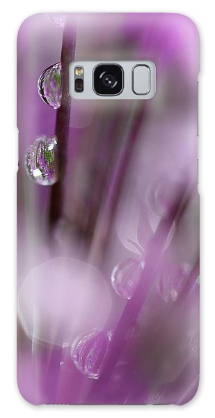 Soul In Rain Galaxy Case by Tracy Male