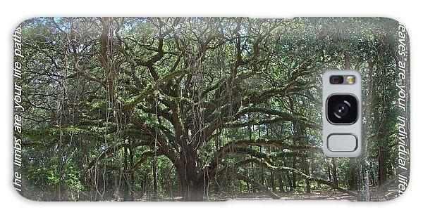 Soul Tree Galaxy Case by Dodie Ulery