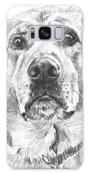 Soulful Lab Face Galaxy Case