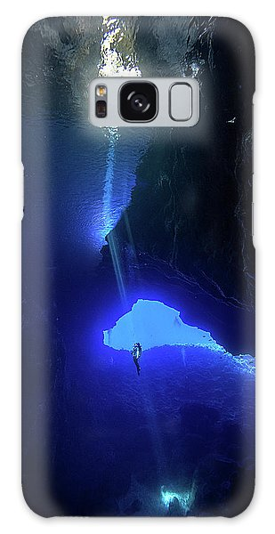 Scuba Diving Galaxy Case - Sound From Sky by Charlie Jung