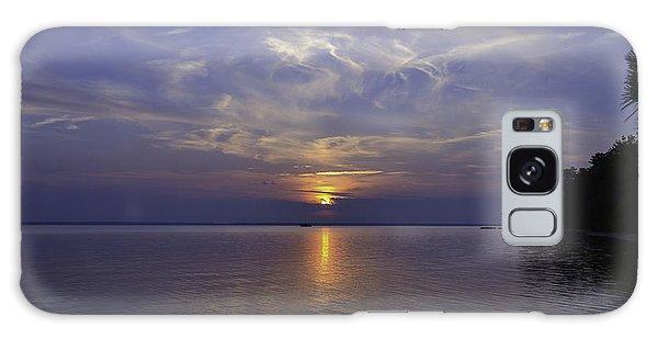 Soundside Sunset Galaxy Case
