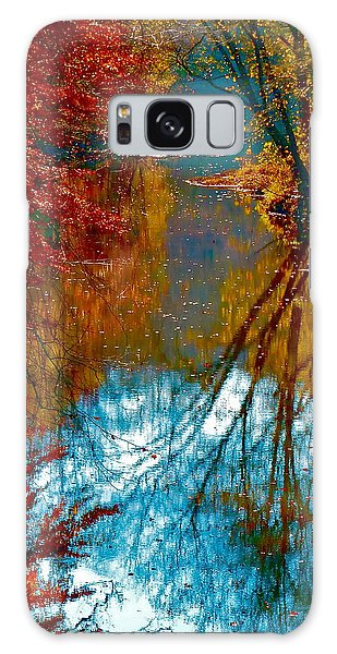 South Anna River Reflections Galaxy Case