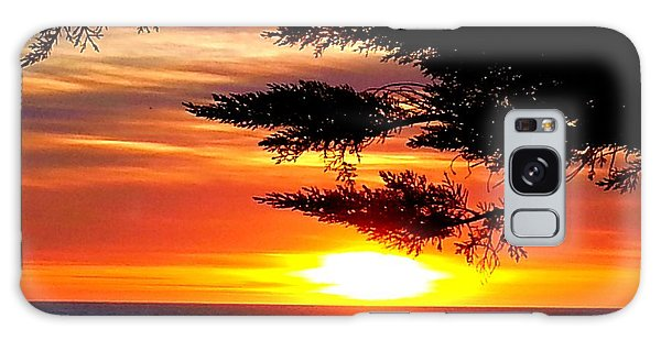 South Bay Sunset Galaxy Case