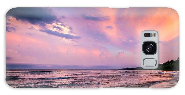 South Beach Clouds Galaxy Case