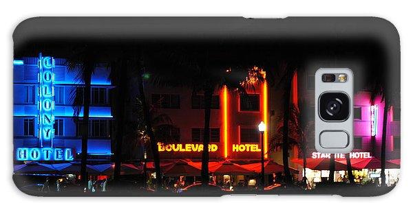 South Beach Hotels Galaxy Case