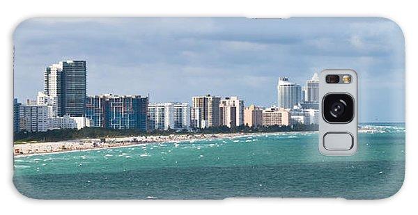 South Beach On A Summer Day Galaxy Case