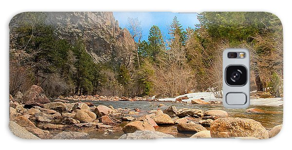 South Boulder Creek - Eldorado Canyon State Park Galaxy Case