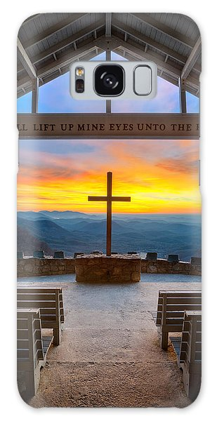 South Carolina Pretty Place Chapel Sunrise Embraced Galaxy Case