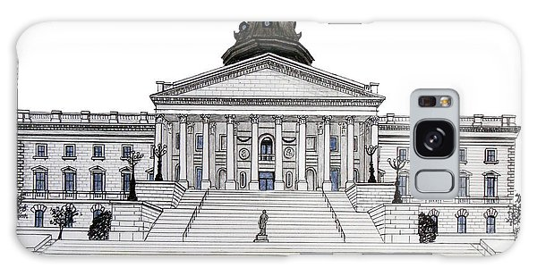South Carolina State Capitol Galaxy Case