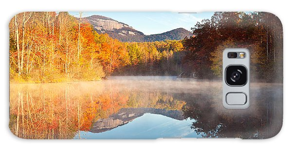 South Carolina Table Rock State Park Autumn Sunrise - Balance Galaxy Case
