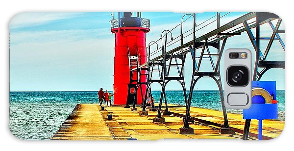South Haven Lighthouse Galaxy Case
