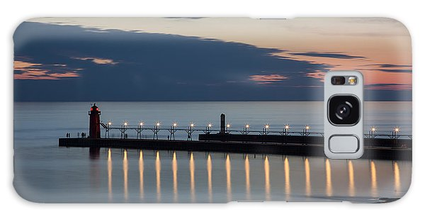 South Haven Michigan Lighthouse Galaxy Case