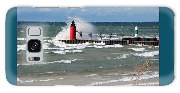 South Haven Splash Galaxy Case