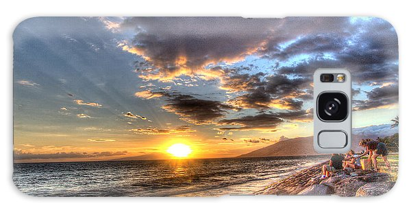 South Kihei Sunset Galaxy Case