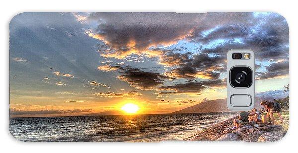 South Kihei Sunset Galaxy Case