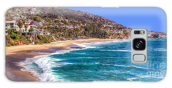 South Laguna Beach Coast Galaxy Case by Jim Carrell