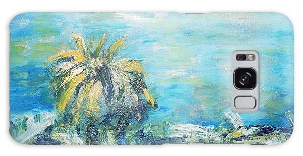 South Of France    Juan Les Pins Galaxy Case by Fereshteh Stoecklein
