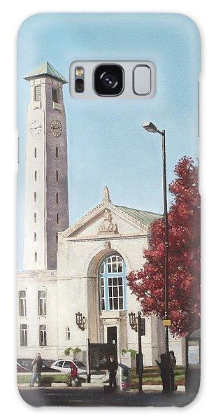 Southampton Civic Center Public Building Galaxy Case by Martin Davey