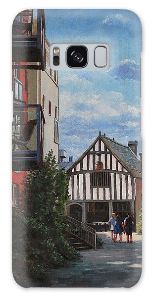 Southampton Medieval Merchant House From High St Galaxy Case