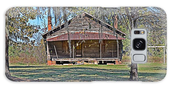 Southern Cabin Galaxy Case by Linda Brown