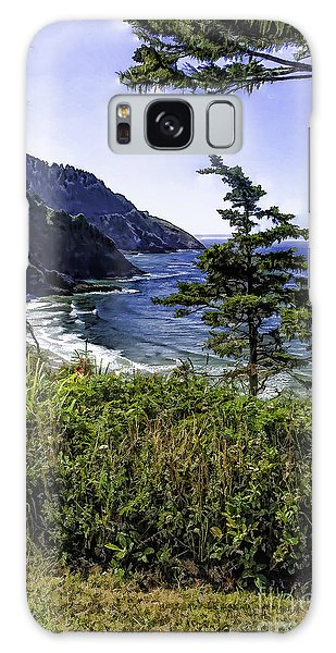 Southern Oregon Coastline Galaxy Case
