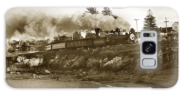 Southern Pacific Del Monte Passenger Train Pacific Grove Circa 1954 Galaxy Case