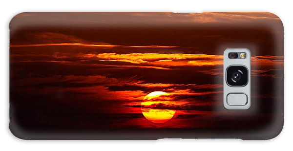 Southern Sunset Galaxy Case by Shannon Harrington
