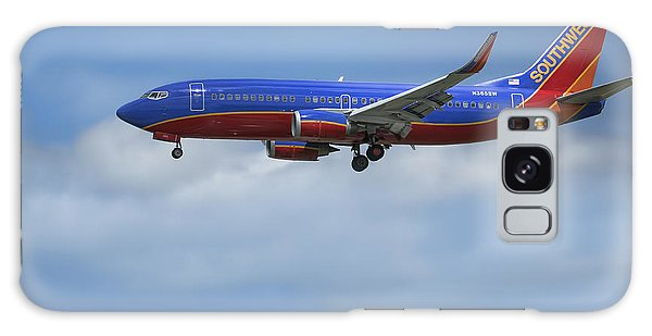 Southwest Airlines Jet Galaxy Case by D Wallace