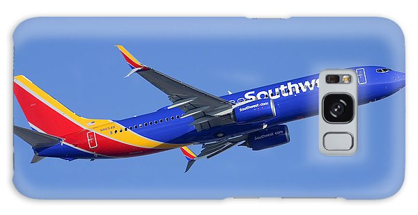 Southwest Boeing 737-8h4 N8654b Phoenix Sky Harbor December 22 2014 Galaxy Case