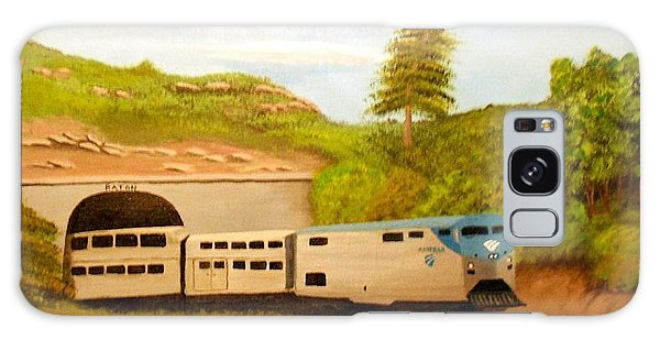 Southwest Chief At Raton Pass Galaxy Case