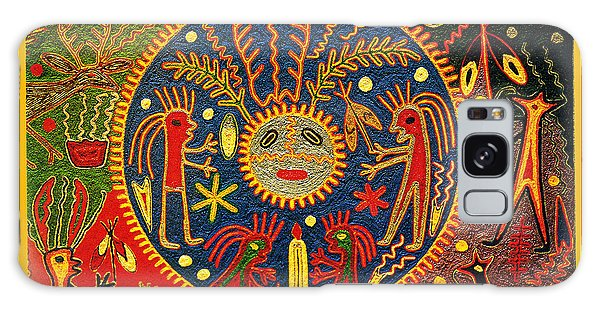 Southwest Huichol Del Sol Galaxy Case