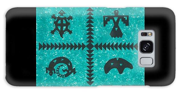 Southwest Symbols Galaxy Case