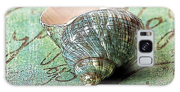 Souvenir Shell Galaxy Case by Karen Stephenson