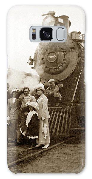 S P Baldwin Locomotive 2285  Class T-26 Ten Wheel Steam Locomotive At Pacific Grove California 1910 Galaxy Case