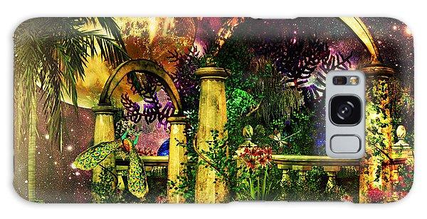 Space Garden Galaxy Case by Ally  White