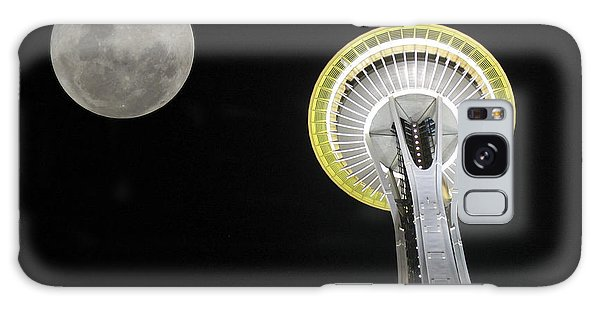 Space Needle Galaxy Case by David Gleeson