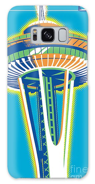 Sixties Galaxy Case - Space Needle Pop Art by Jim Zahniser