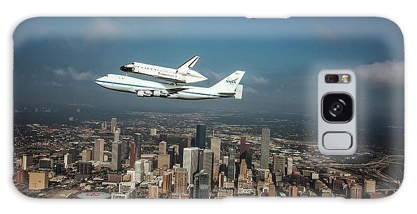 Space Shuttle Endeavour Piggyback Flight Galaxy Case by Nasa/sheri Locke