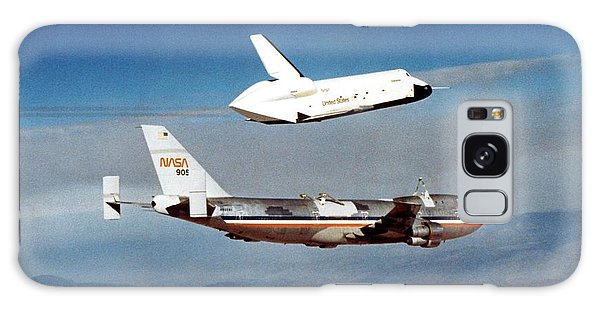 Space Shuttle Prototype Testing Galaxy Case by Nasa