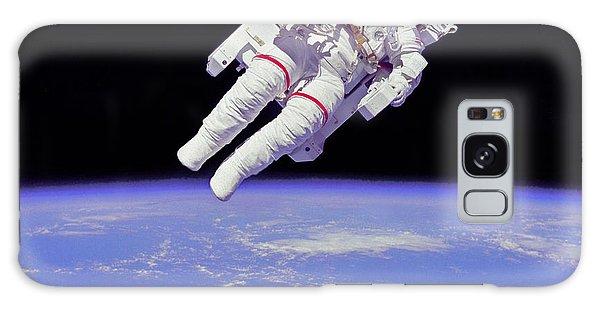 Space Walk 1 Galaxy Case by Rod Jones