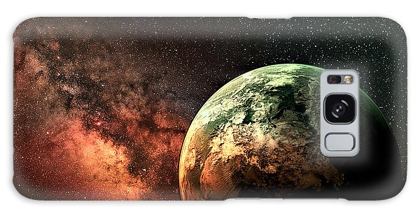 Spaced Out Galaxy Case by Ally  White