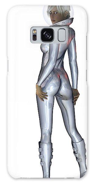 Spacegirl... Galaxy Case by Tim Fillingim