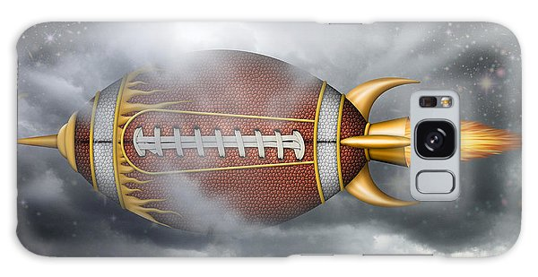 Spaceship Football Galaxy Case