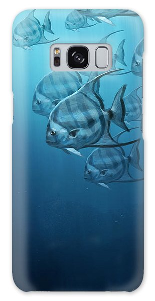 Fish Galaxy S8 Case - Spade Fish by Aaron Blaise