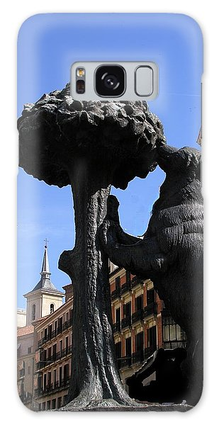 Spain - Madrid - Symbol Of Bear And Strawberry Tree Galaxy Case
