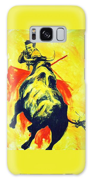 Spanish Bullfight Galaxy Case