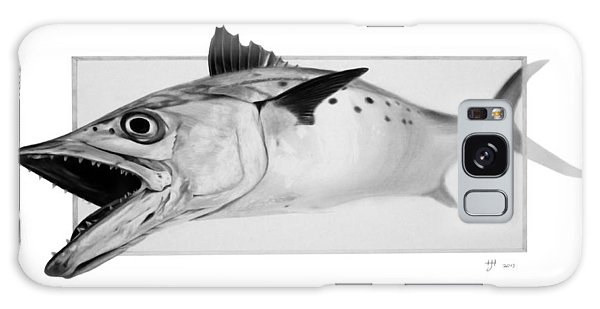 Spanish Mackerel - Pencil Galaxy Case
