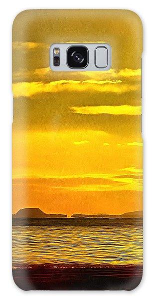 Spanish Marine Sunset Galaxy Case