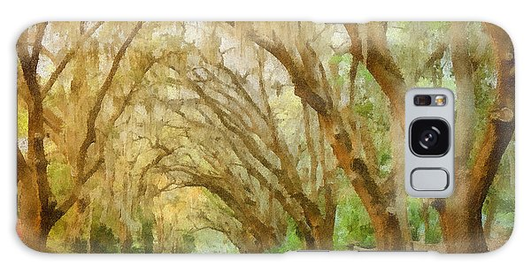 Old Florida Galaxy Case - Spanish Moss - Symbol Of The South by Christine Till