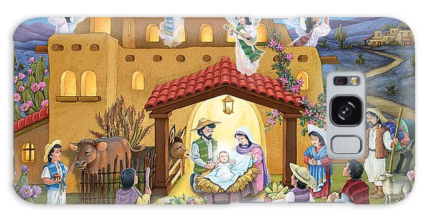 Spanish Nativity Galaxy Case